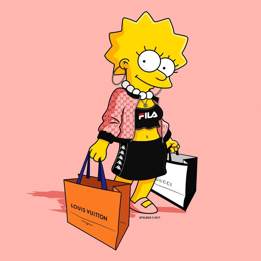 Lisa Simpson Hypebeast In 2019 Lisa Simpson Simpson