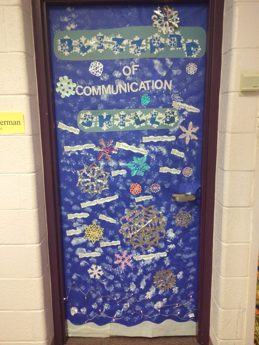 Speech language door decorating by Heather Hinerman & Speech language door decorating by Heather Hinerman | speech ...