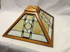Wood frame stained glass mission style lamp shade 18 stained wood frame stained glass mission style lamp shade 18 mozeypictures Image collections