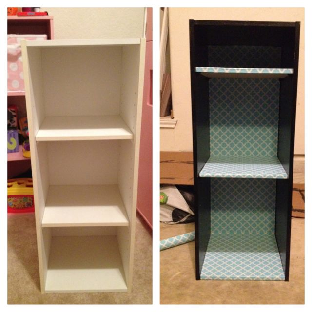 Re-did an old, yellowy-white bookshelf for my classroom!!! Inspired by...http://www.switcheroom.com/2010/12/13-things-we-can-do-with-left-over.html?m=1, but I used Contact paper instead of fabric. A bit of a pain to get straight at first, without bubbling, but worth it in the end!! Yay!