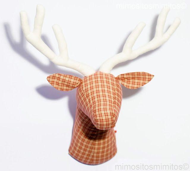Cabeza de ciervo decoraci n littlefoo head pinterest - Cabeza de ciervo decoracion ...