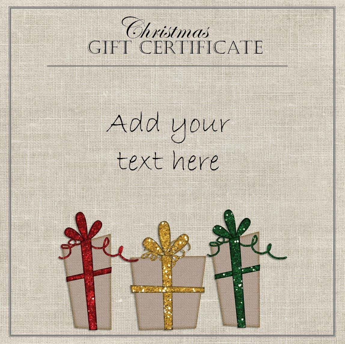 11 Kids Christmas Certificate Templates Free Printable Word Pdf