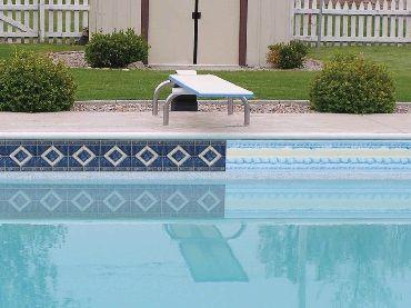 Borderlines Adhesive Pool Borders Create Pool Waterline Pool Time Pinterest Swimming Pools