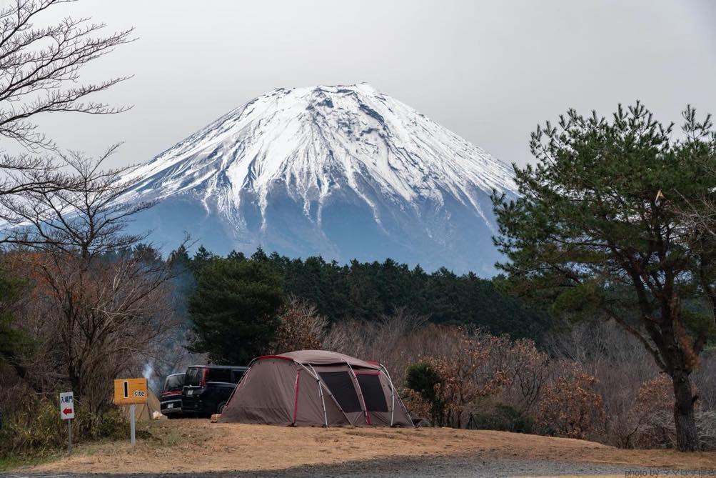 朝霧ジャンボリーオートキャンプ場 富士山が見えるサイト選びをプチ攻略 富士山 オートキャンプ場 朝霧
