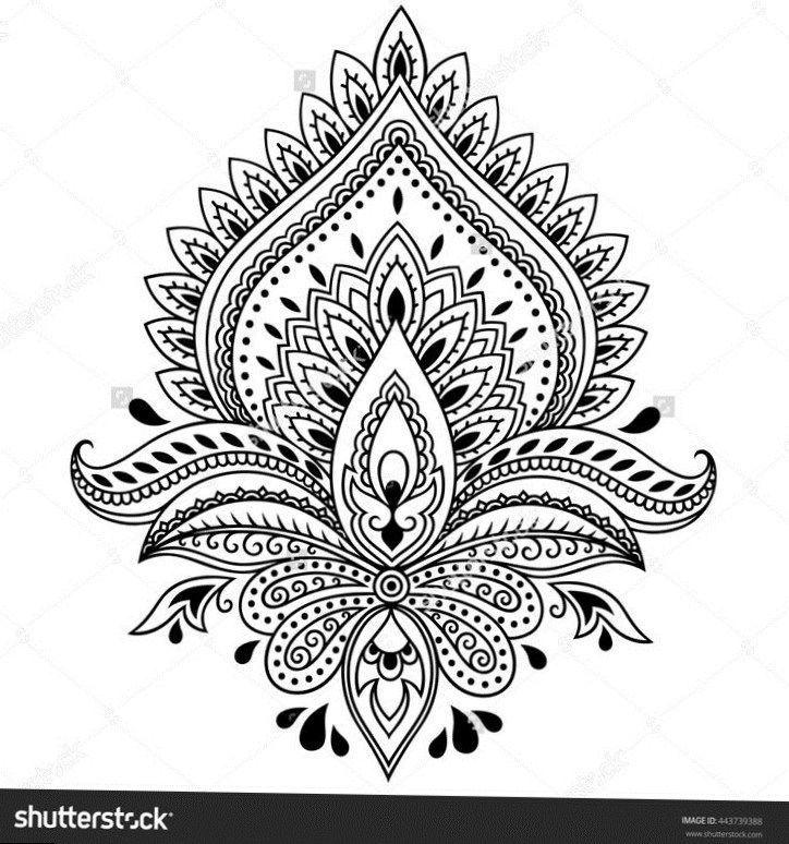 Lower Arm Henna Tattoo: #hennatattoo #tattoo Beautiful Flower Tattoo Designs