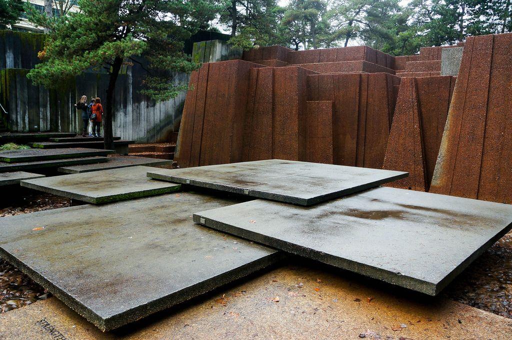 Designers lawrence halprin angela danadjieva city for Urban waterfall design