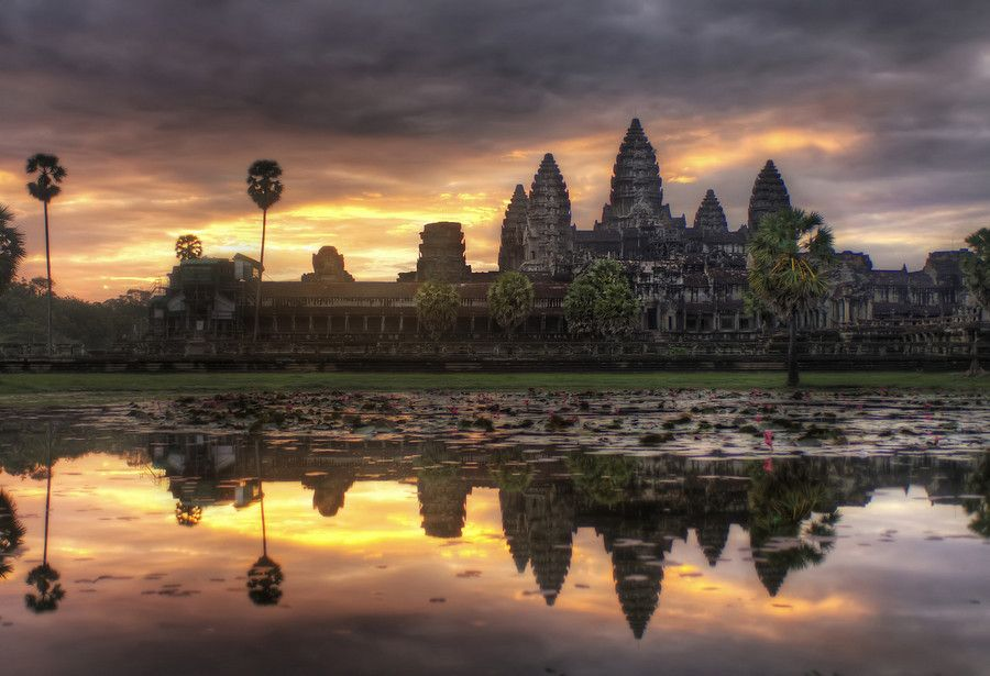Angkor Wat - what a terrific sunrise...