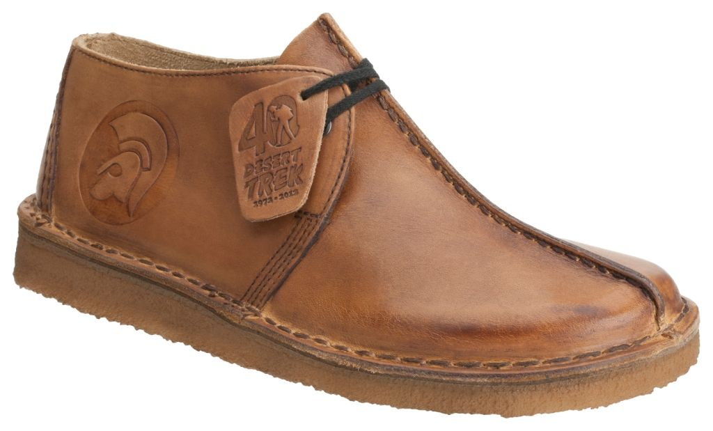 Talk about a sexy shoe - the Clarks Desert Trek celebrates its 40th  anniversary with the