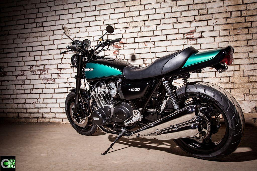 Umbau Einer Kawasaki Z 1000 Von Green Island Bikes