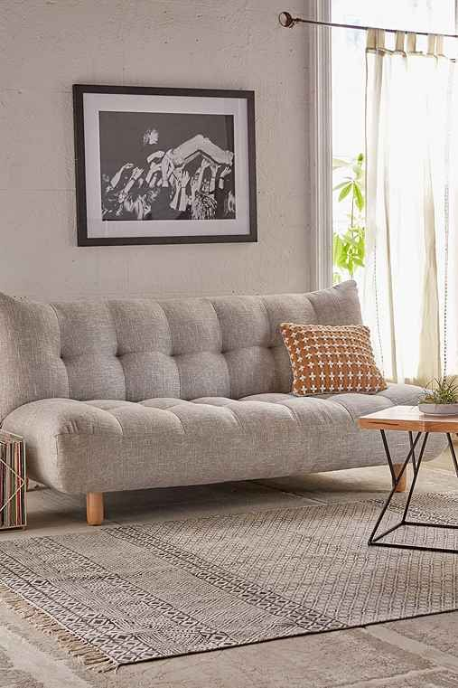 Winslow Tufted Sleeper Sofa   Urban Outfitters