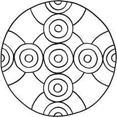 Mandalas zum ausdrucken und ausmalen 21 f r kinder - Mosaik vorlagen zum ausdrucken ...