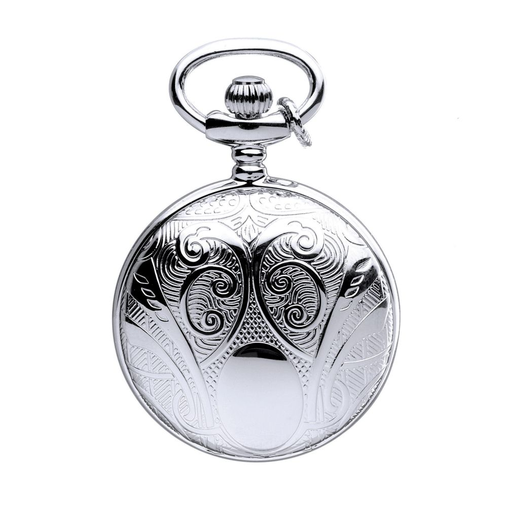 Mount royal full hunter silver plated pendant necklace watch mount royal full hunter silver plated pendant necklace watch pendant watches from pocket watch uk mozeypictures Images