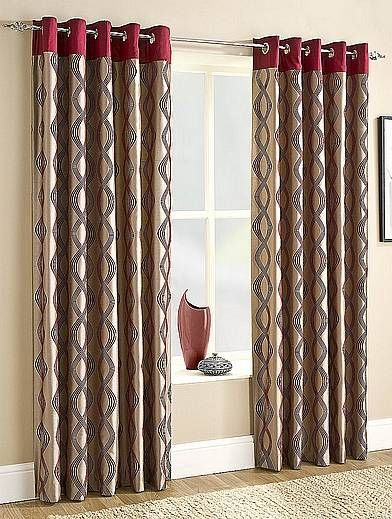 Capri is a stylish curtain with an understated art nouveau