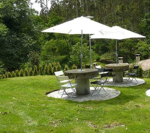 resultado de imagen para tipos de sombrillas para jardin - Sombrillas Para Jardin