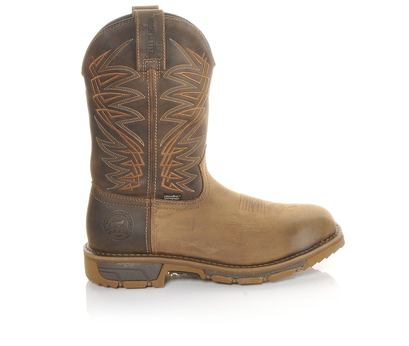 Men's Red WingIrish Setter 83912 Marshall Work Boots