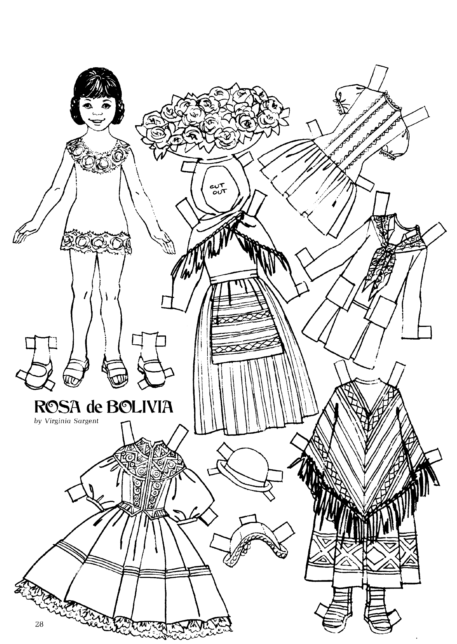 Pin On Paper Doll Printables Articles