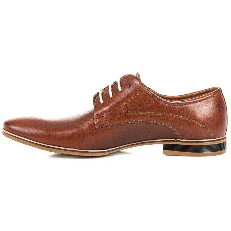 Mario Boschetti Eleganckie Buty Na Wiazanie Brazowe Dress Shoes Men Italian Shoes Oxford Shoes
