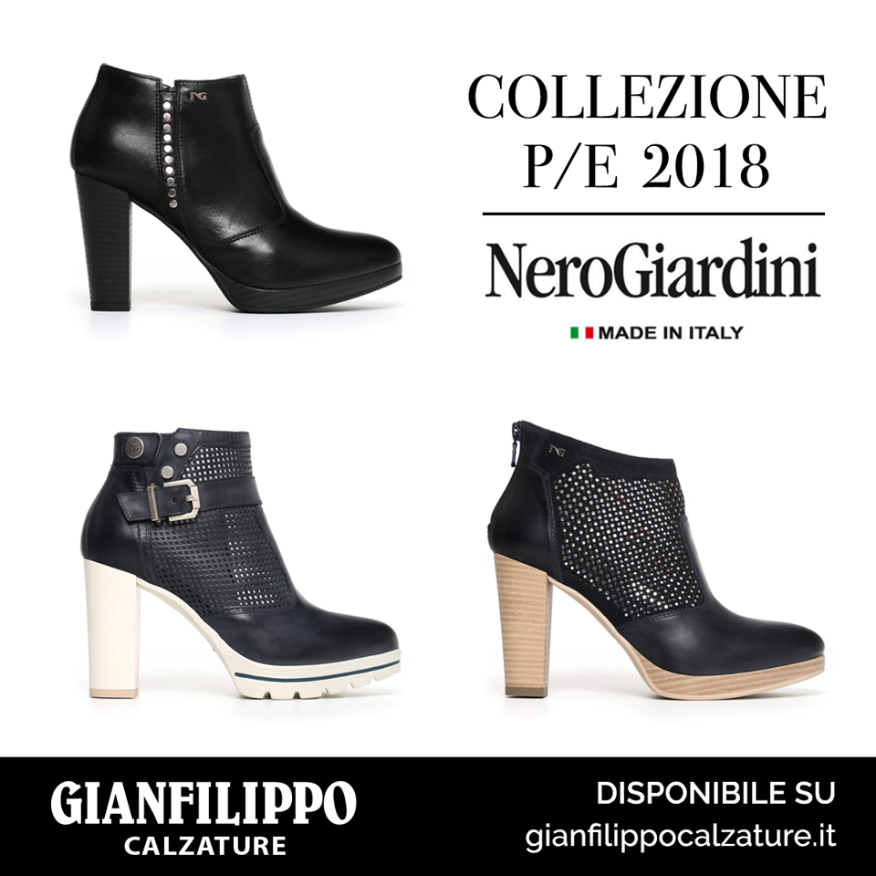 NERO GIARDINI: collezione primavera estate 2018 | IDEE