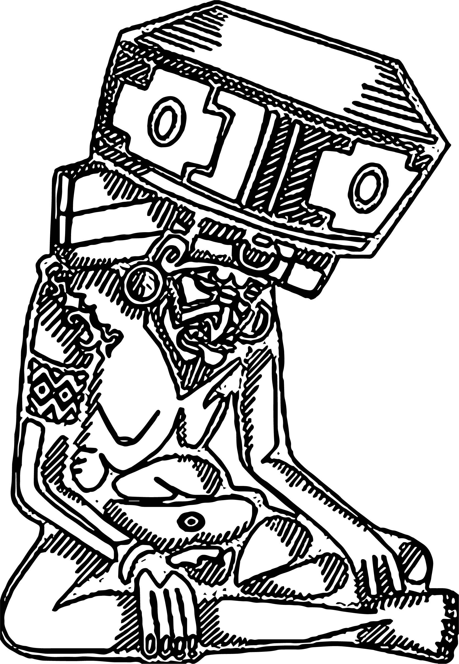 Aztec Huehueteotl Coloring Page   Aztec