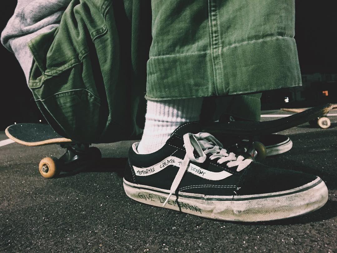 Wearing Skateboard Brand Clothing