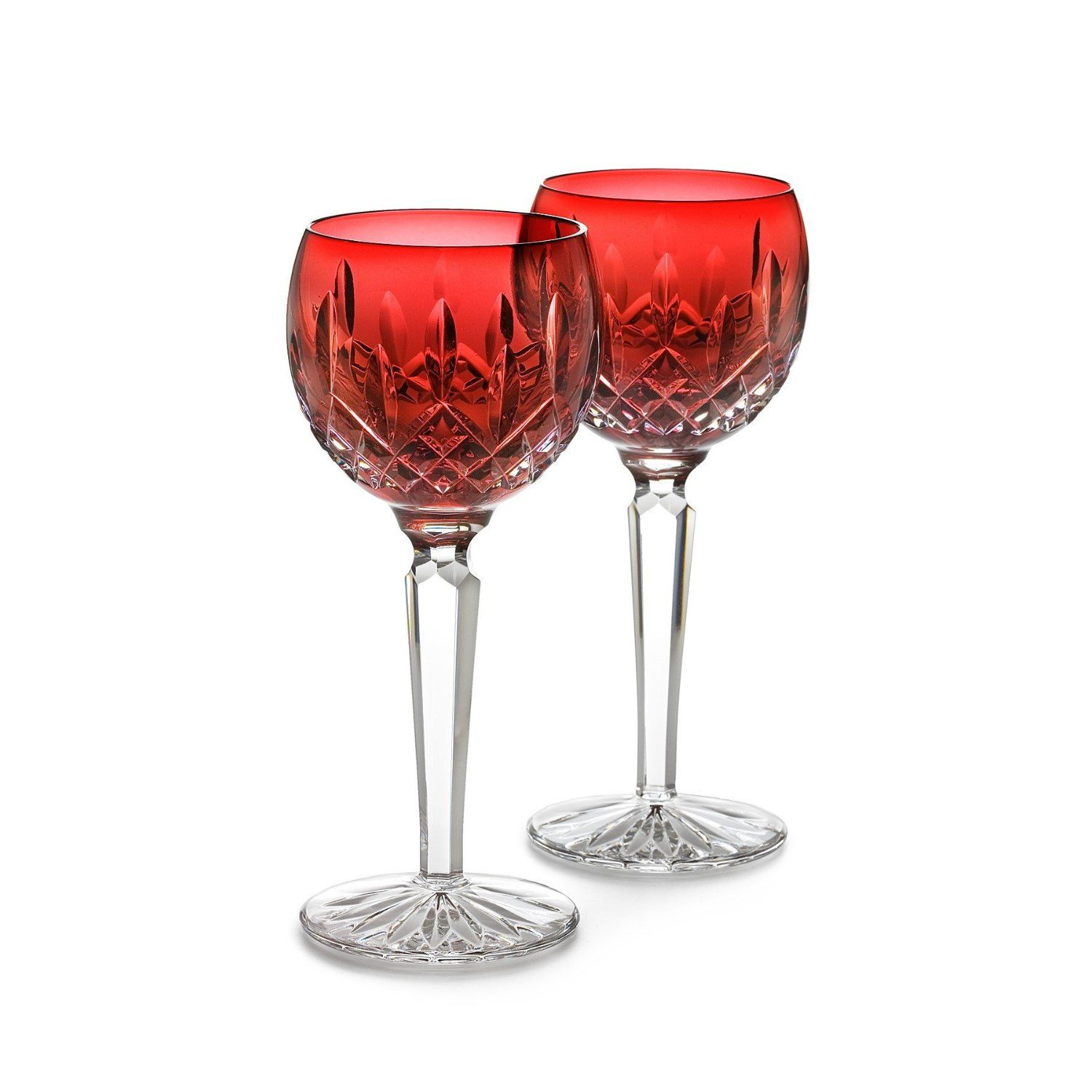 Waterford Crystal Christmas Goblets Waterford Crystal Lismore Crystal Stemware Crystal Glassware