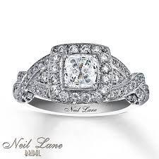 cushion cut wedding rings neil lane - Google Search