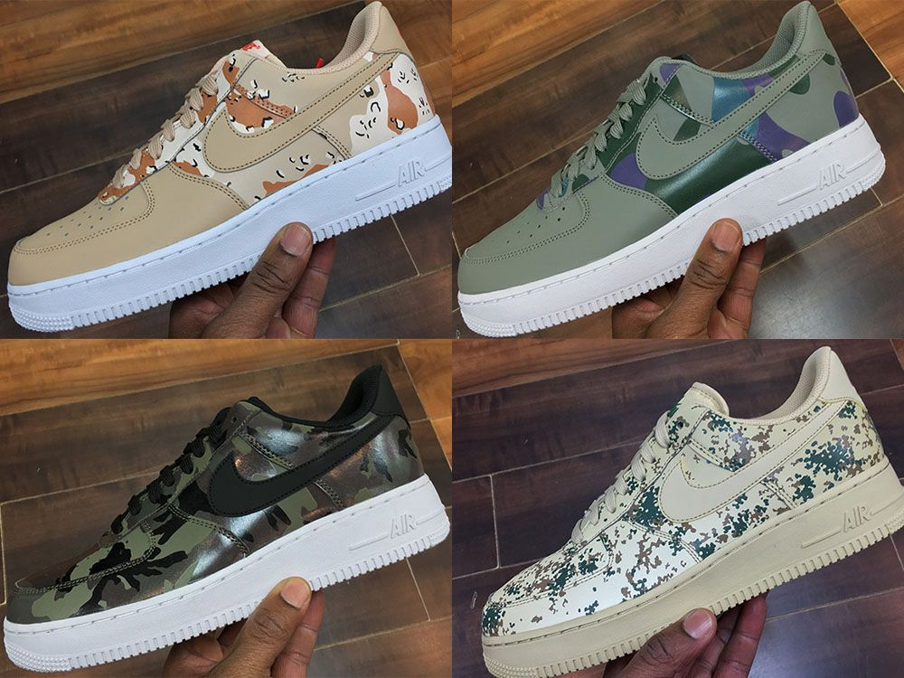 nike air force 1 militar