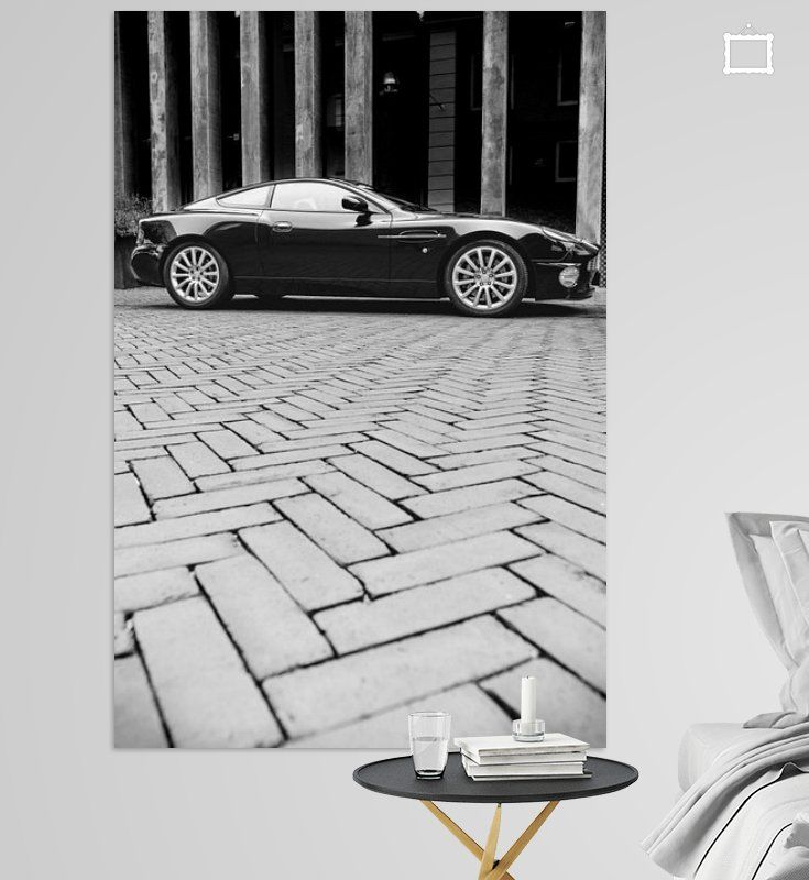 Aston Martin Vanquish Sportwagen Van Sjoerd Van Der Wal Op