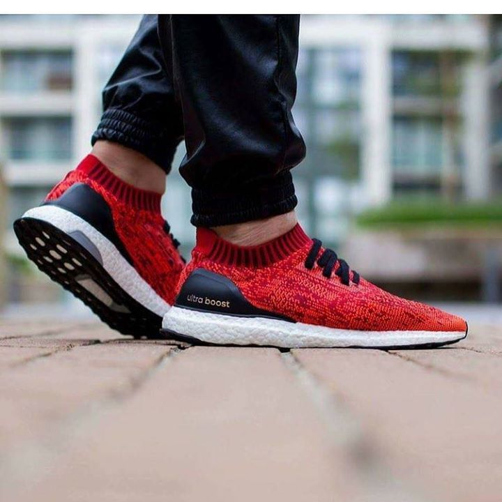 Who's going to be grabbing the Red Ultra Boost Uncaged tonight?