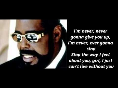 Barry White Never Never Gonna Give You Up 1974 Music Heals