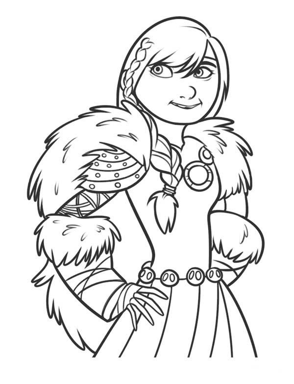 How to Train Your Dragon, : Astrid is so Beautiful in How