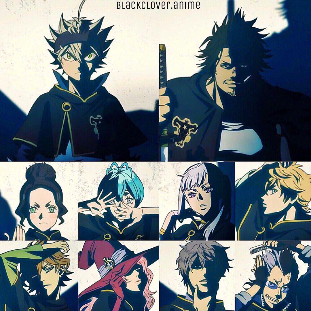 Black Clover Black Bulls Wallpaper