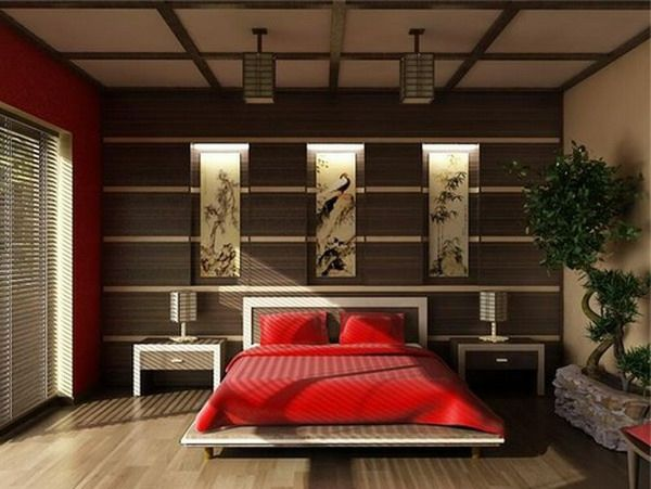 la d coration asiatique vous aide plonger dans un pr sent magique chambre zen asiatique. Black Bedroom Furniture Sets. Home Design Ideas
