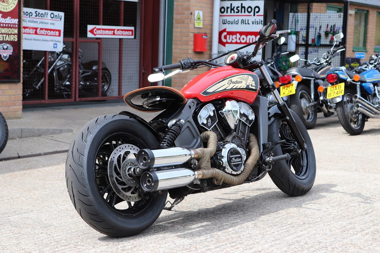 Custom Scout Bobber By Moore Speed Racing Cars And Motorcycles