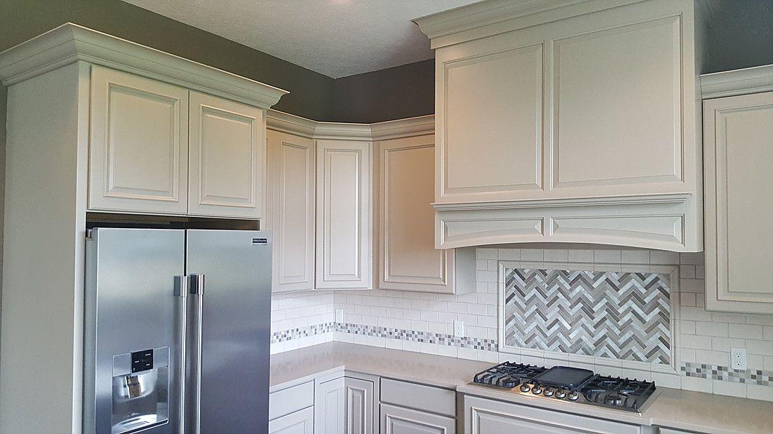 Off-white Kitchen Wellborn Cabinet Belmont MDF Maple ...