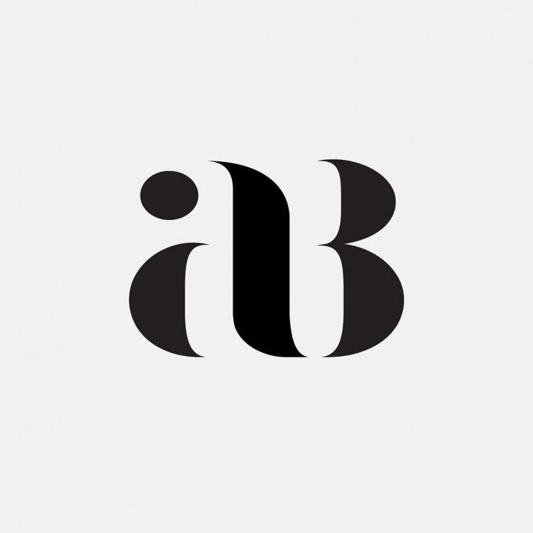 """AB"" Monogram Project by Hope Meng"