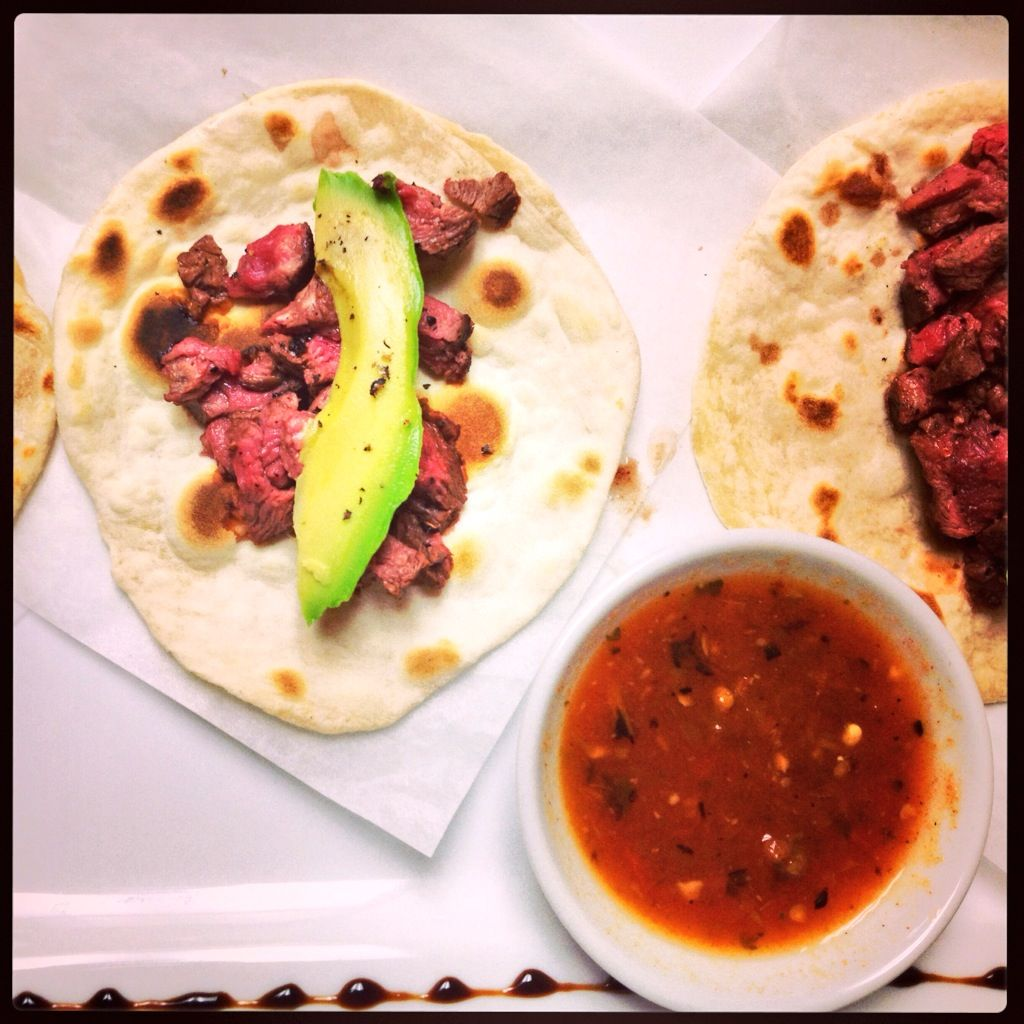 flat iron steak tacos at surf n turf tacos steak tacos chili rubbed ...