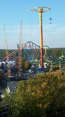 Six Flags Great Adventure Wikipedia The Free Encyclopedia Six Flags Great Adventure Greatest Adventure Thrill Ride