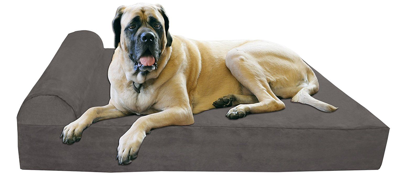 "Big Barker 7"" Orthopedic Dog Bed with Pillow"