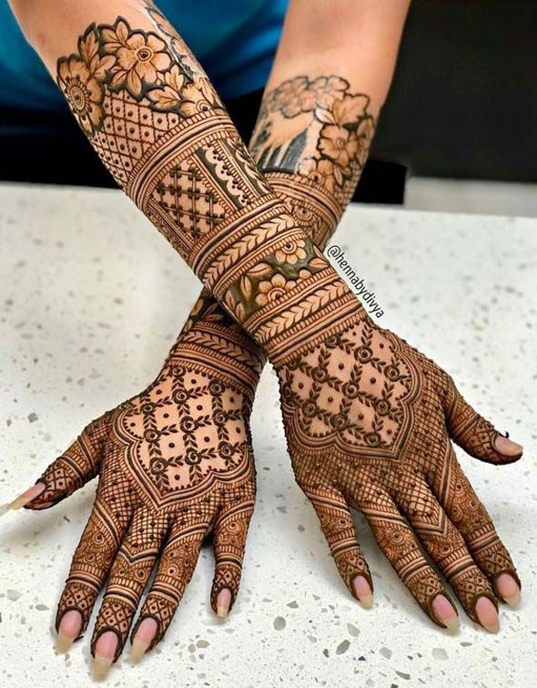 Inspiring ideas for indian weddings latest mehndi designs simple arabic bridal henna also pin by pavani on pinterest rh