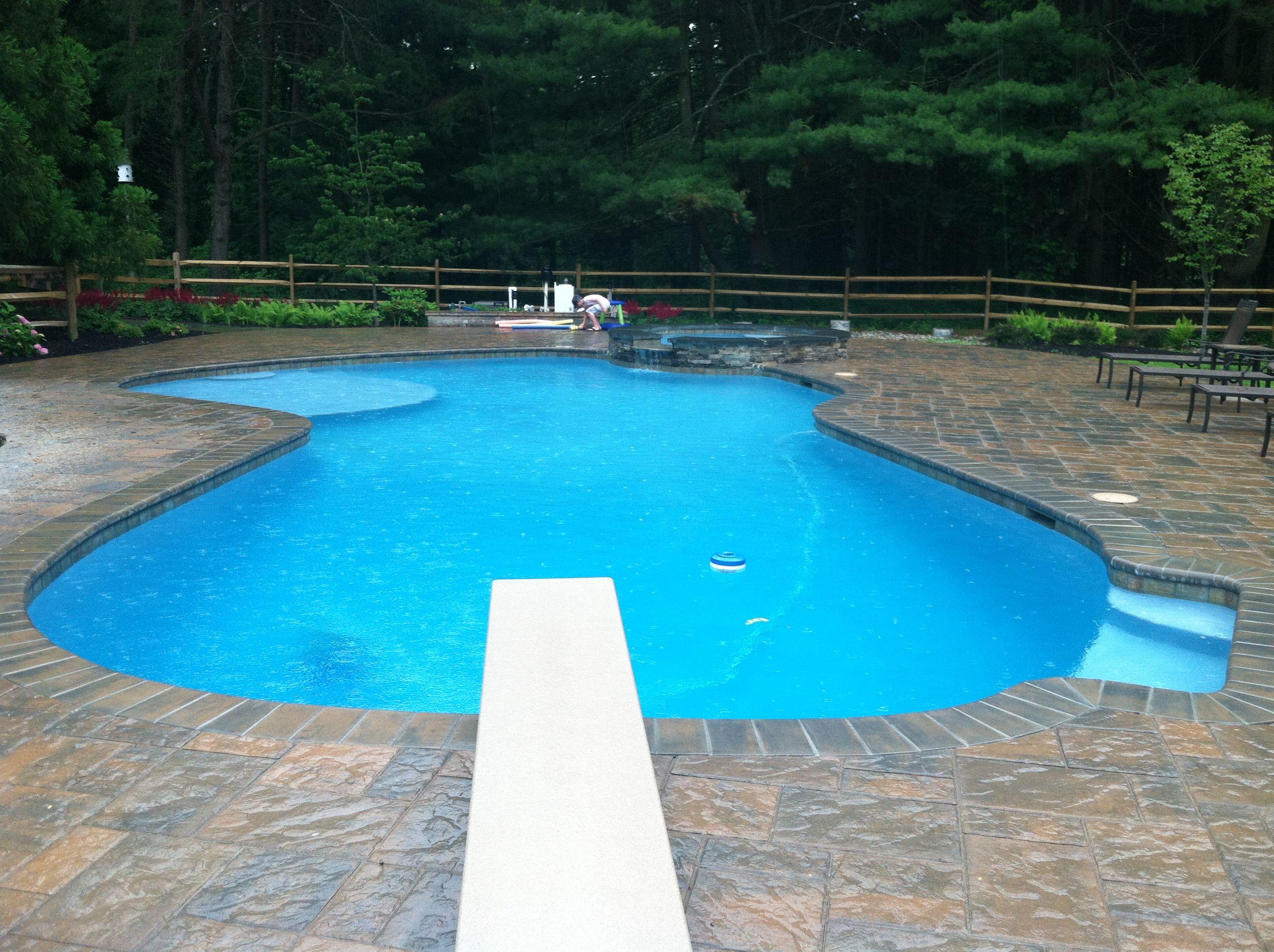 Custom Pools Greenview Designs Techo Bloc Blu Pavers