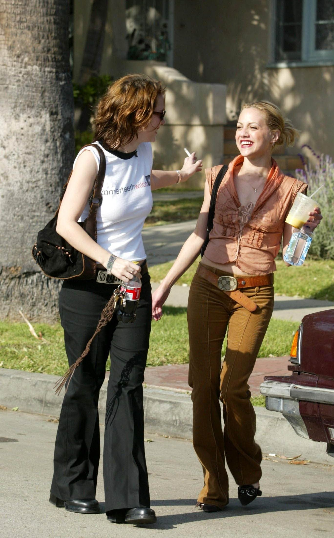 Winona Ryder And Brittany Murphy Winona and Brittany Mu...