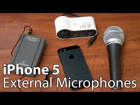 Iphone 5 External Microphone Reviews Microphones Iphone Ipod Touch