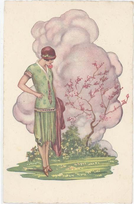Vintage Postcards Show How Different Womens Beauty