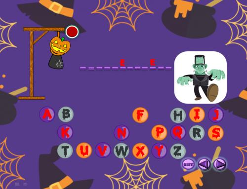Halloween Sight Words Hangman Power Point Game