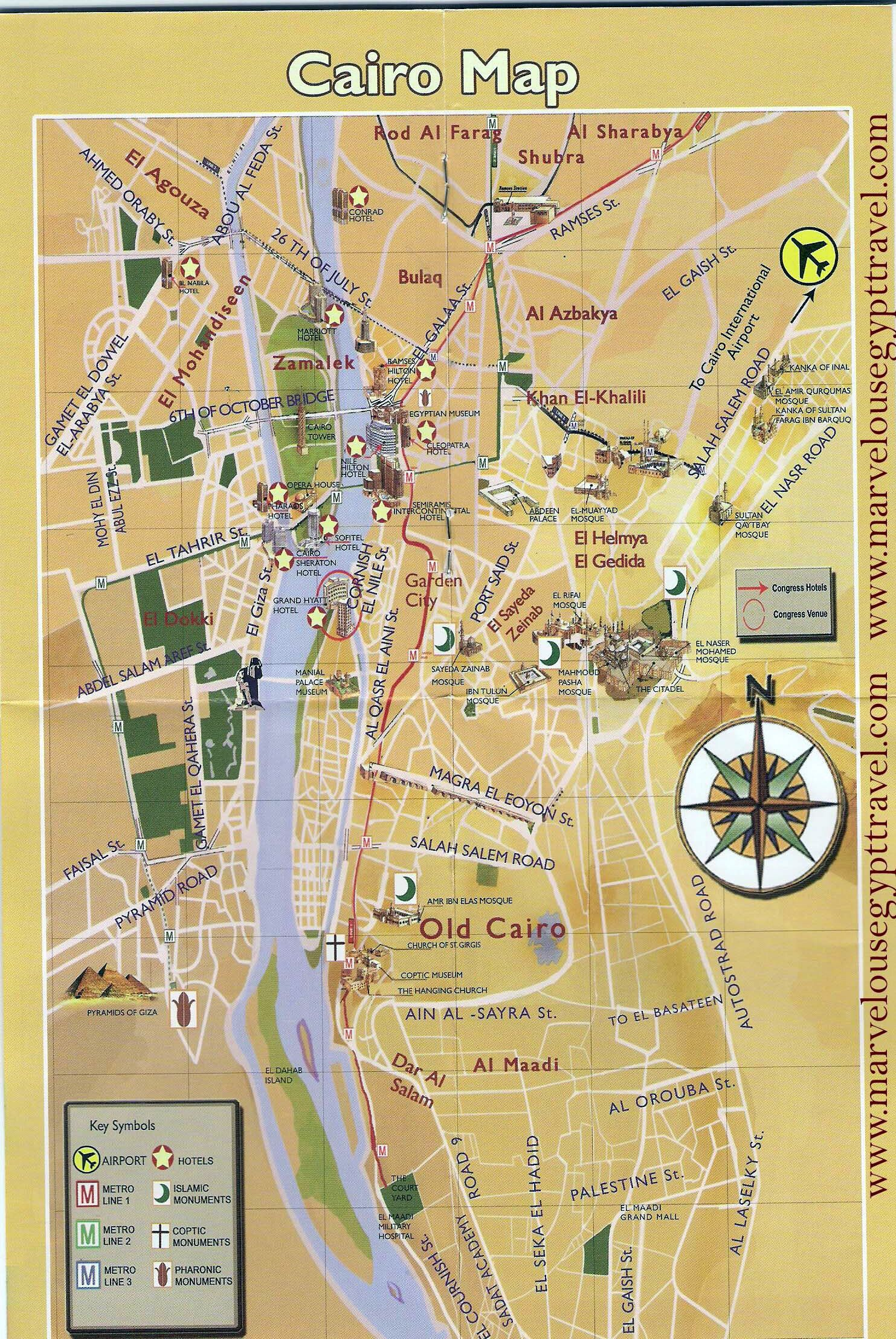 Explore Cairo Map Pictorial Maps and more
