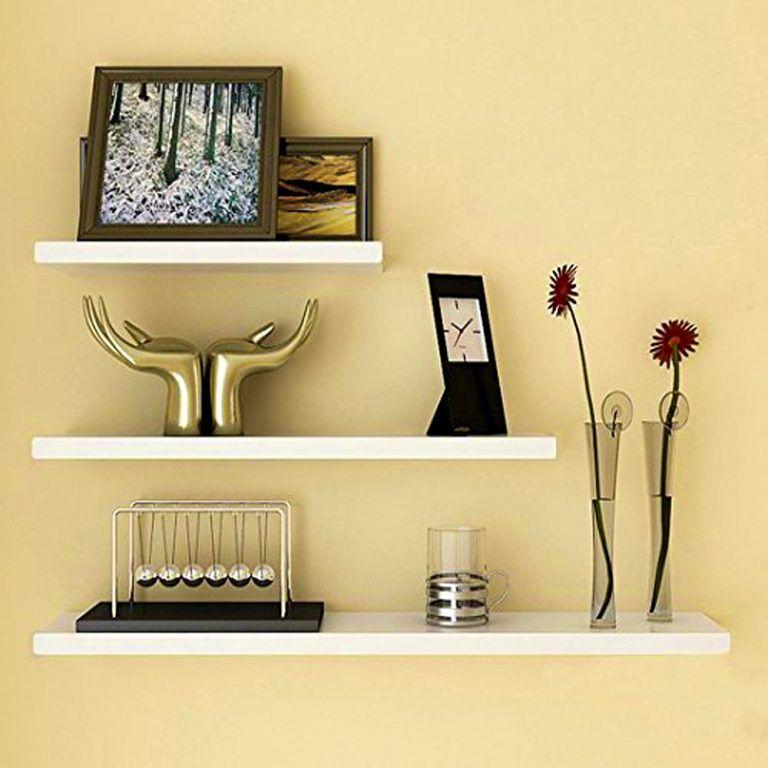 Desain Rak Dinding Ruang Tamu Minimalis Modern