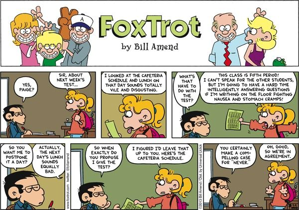 Fox strip teacher