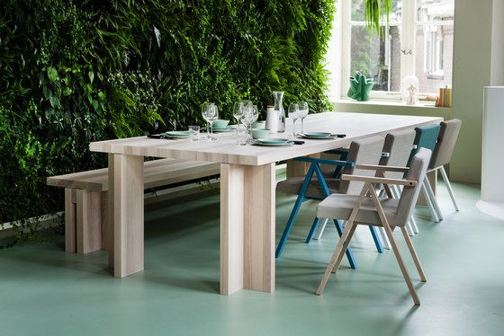 Akiro table/bench by Linteloo by Linteloo