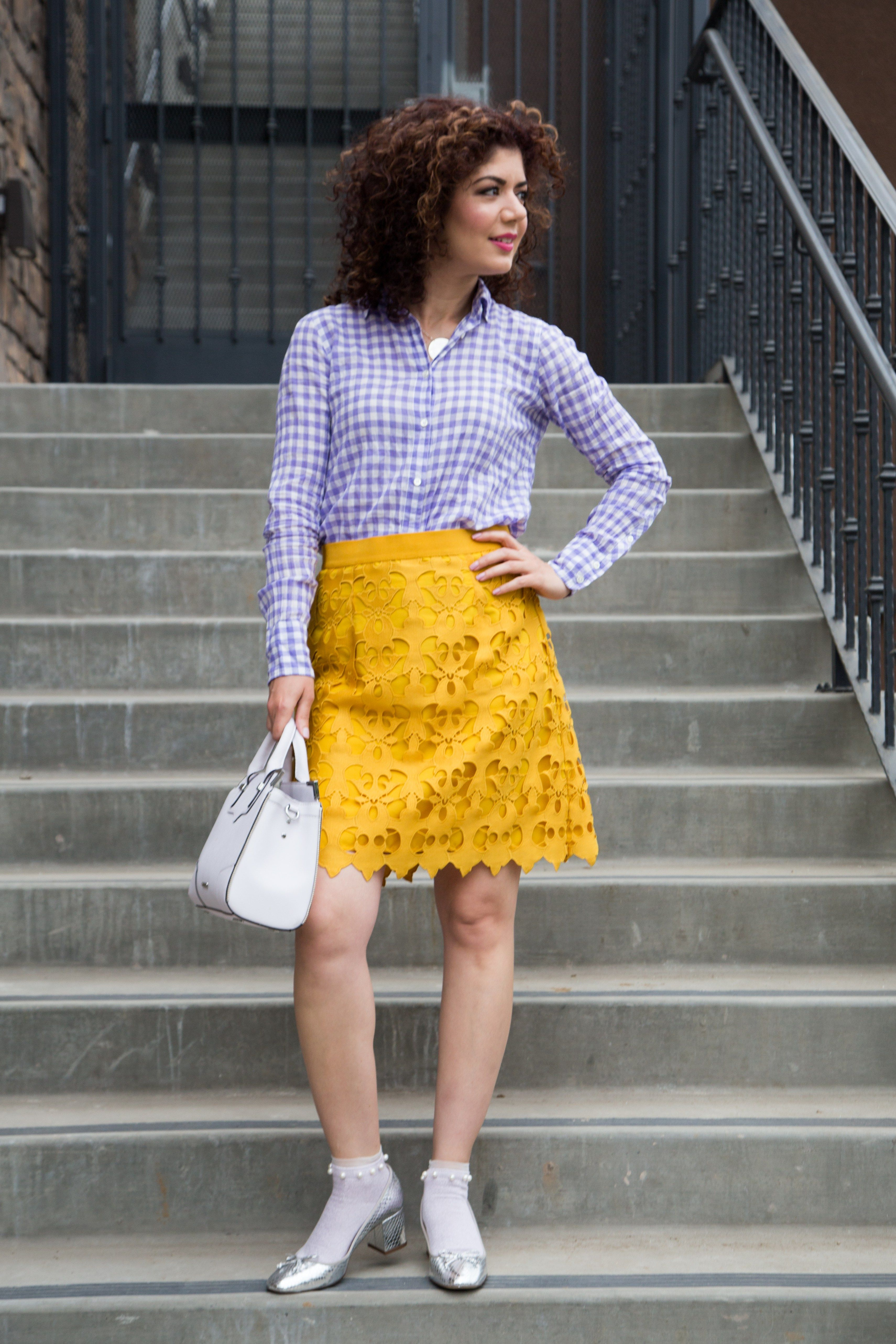 86449312ebc Does a Mustard and Lavender Outfit Work